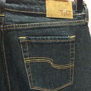 Tilt Denim jeans Dark wash Distress 27 x 31 Long